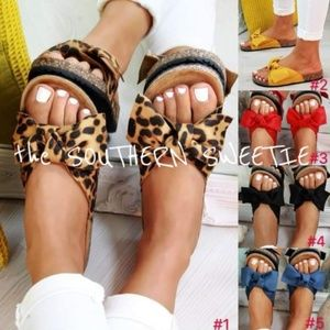 COMING SOON Cheetah sandals